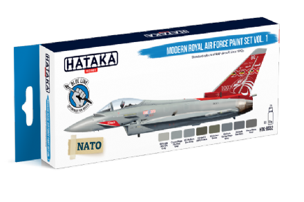Hataka Modern Royal Air Force Paint Set  Vol.1 (Acrylic for Brush Painting)